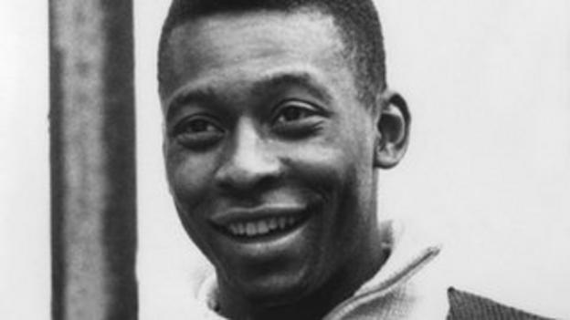 Brazil's Pele in the story of the 1958 & '62 World Cups
