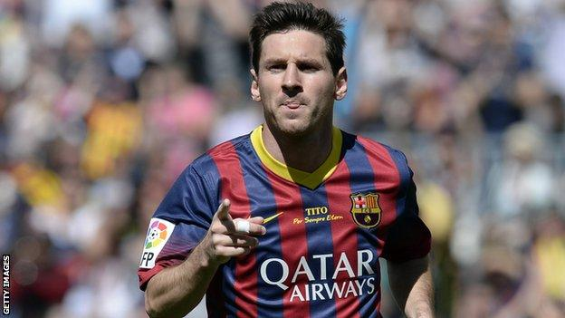 Barcelona announce Lionel Messi has agreed a new contract