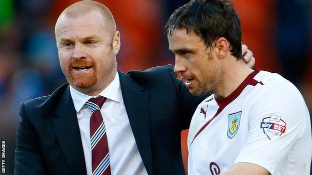 Sean Dyche and Michael Duff
