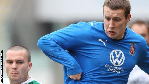 Les Davies of Bangor City