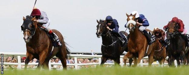Olympic Glory leads the field at Newbury
