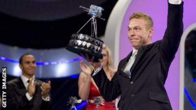 Sir Chris Hoy won the prize in 2008 after winning three gold medals at the Beijing Olympics