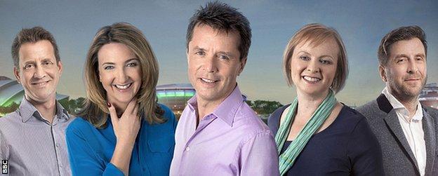 BBC Radio 5 live's team