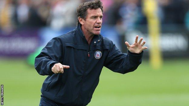 Bath coach Mike Ford