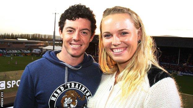 Rory Mcilroy Ends Engagement With Caroline Wozniacki Bbc Sport