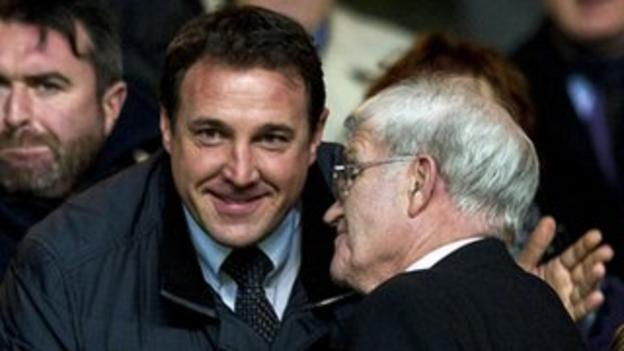Former Celtic player Malky Mackay is also in the running to replace Neil Lennon