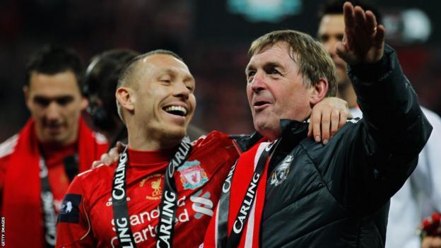 Bellamy against Bluebirds in League Cup final 11/12 season