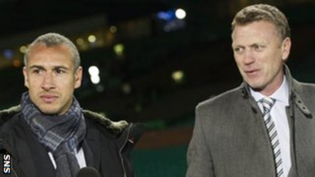 Henrik Larsson and David Moyes
