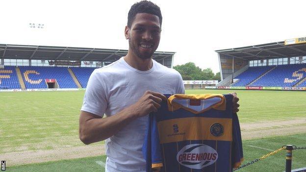 New Shrewsbury Town signing Nat Knight-Percival