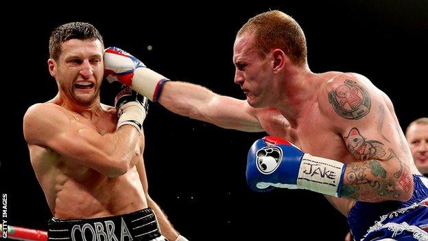 George Groves and Carl Froch