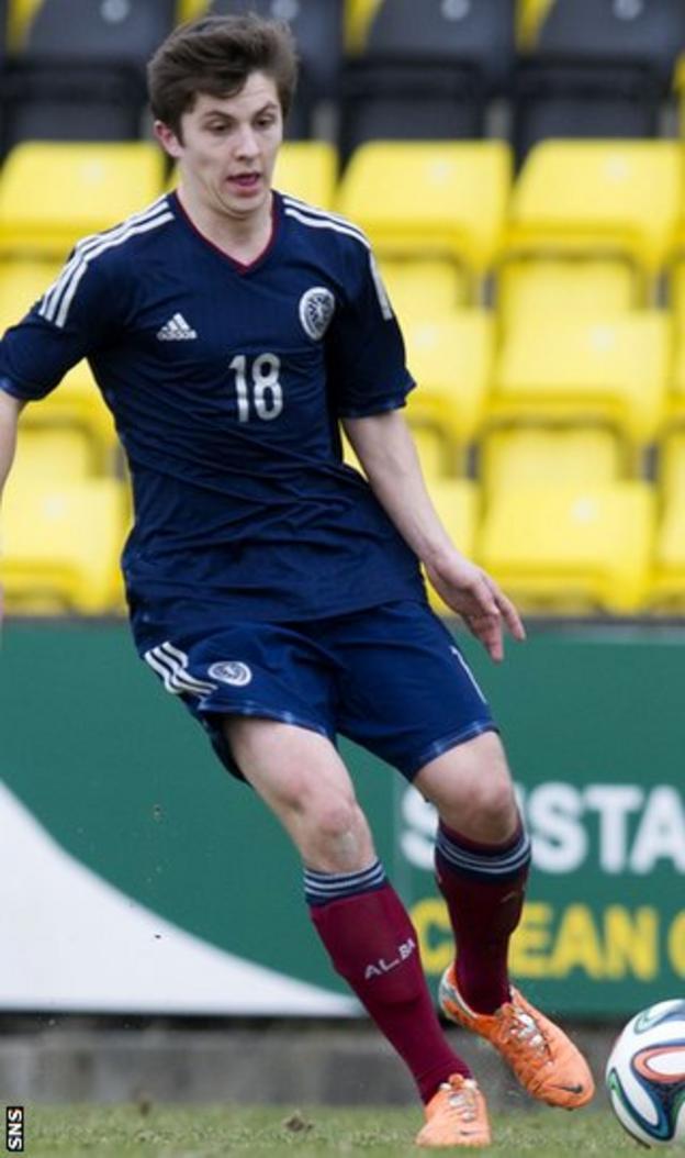 Rangers midfielder Charlie Telfer