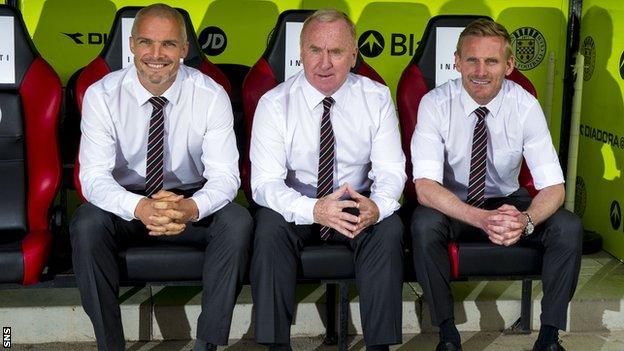 Jim Goodwin, Tommy Craig and Gary Teale