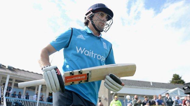 England captain Alistair Cook