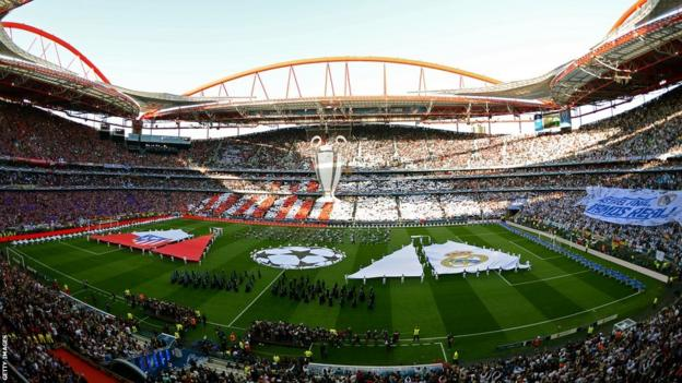 Champions League final opening ceremony