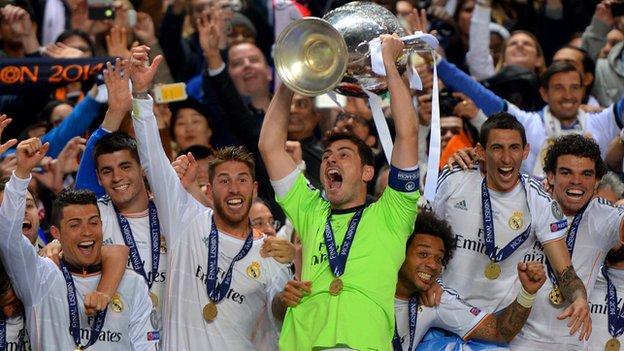Real Madrid 4 1 Atletico Madrid Bbc Sport