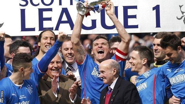 Rangers win League One