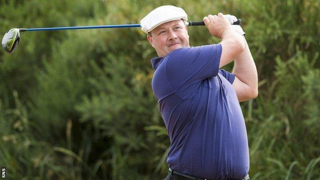 Scottish golfer Chris Doak