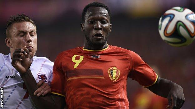 Romelu Lukaku scored hat-trick in Belgium's 5-1 win against Luxembourg
