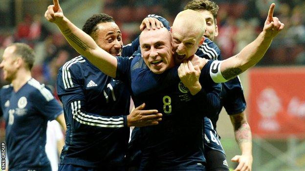 Scotland beat Poland 1-0 in March
