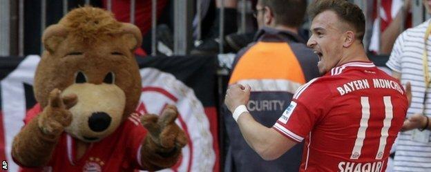 Switzerland midfielder Xherdan Shaqiri