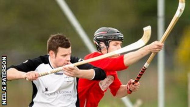 Lovat in action against Kinlochshiel