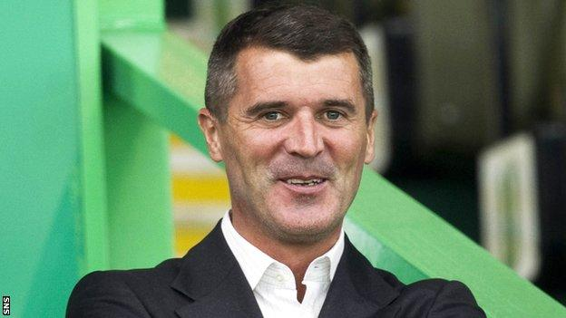Former Republic of Ireland, Manchester United and Celtic midfielder Roy Keane