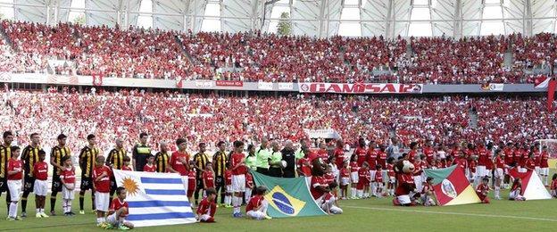 Porto Alegre's Beira Rio stadium