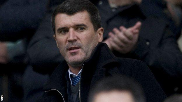 Roy Keane has been strongly linked with the Celtic job