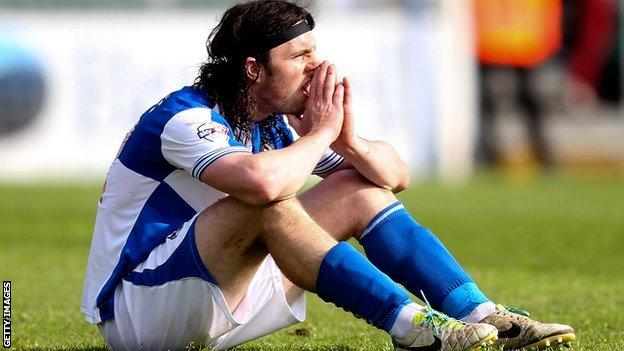 John-Joe O'Toole after Bristol Rovers' relegation