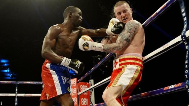Terence Crawford and Ricky Burns
