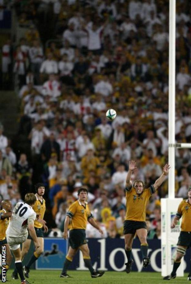 Jonny Wilkinson winning drop goal versus Australia in 2003