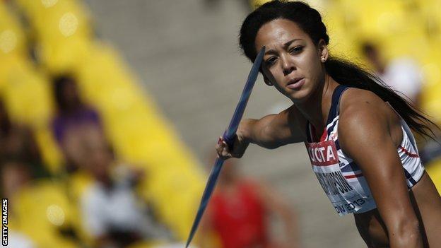 British heptathlete Katarina Johnson-Thompson