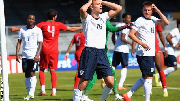 England U20s lose to Portugal in Toulon