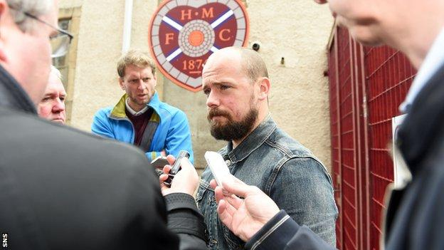Jamie Hamill leaves Hearts