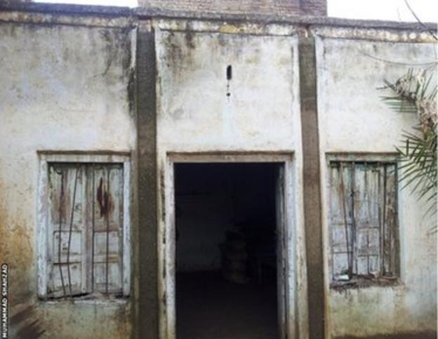 Muhammad Shahzad's family home in Pakistan