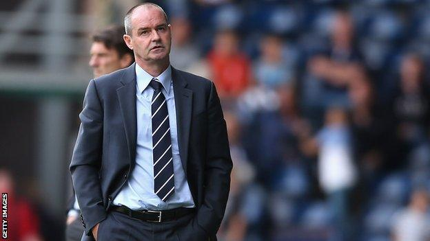 Steve Clarke during his time at West Brom