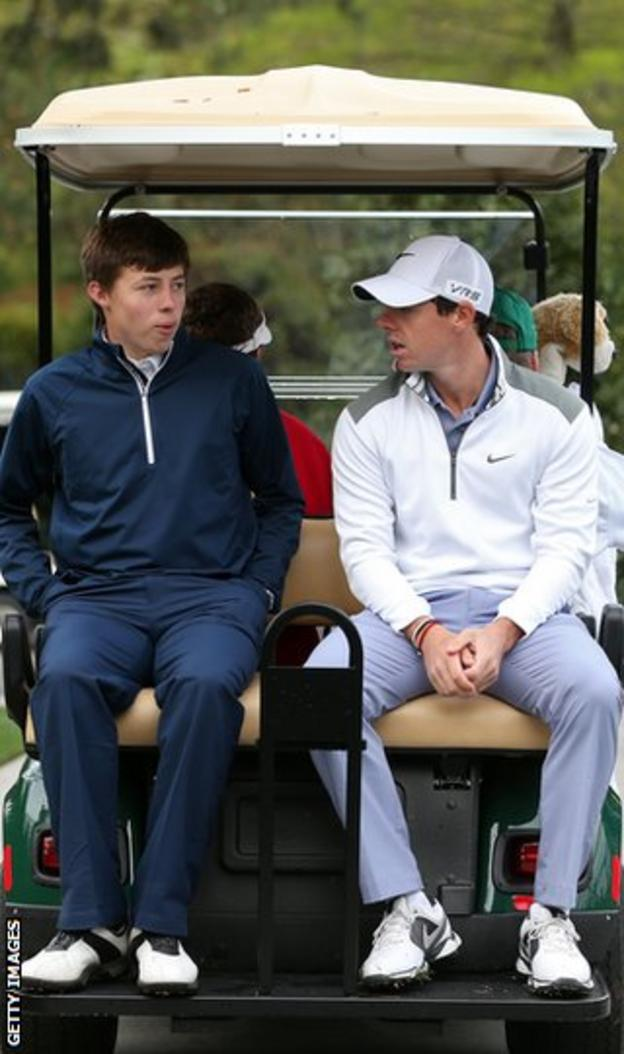 Matthew Fitzpatrick and Rory McIlroy