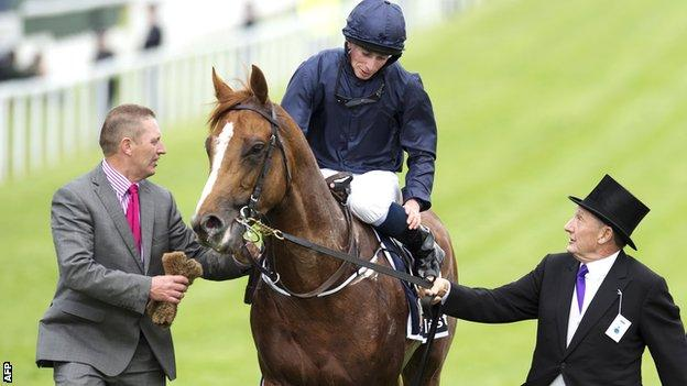 Ruler Of The World at last year's Derby