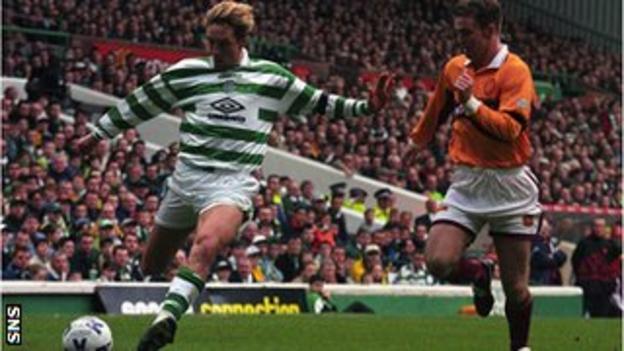 Vidar Riseth playing for Celtic