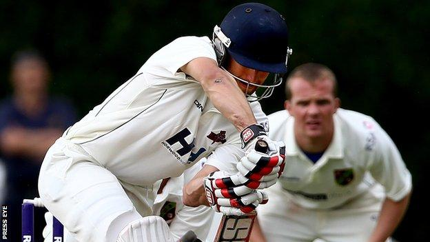 Former Zimbabwean Test player Craig Ervine helped steer the Knights to victory at Stormont