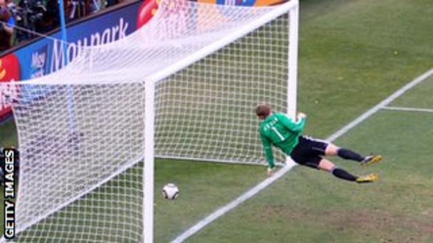 Frank Lampard disallowed 'goal'