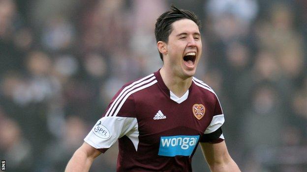 Former Hearts defender Dylan McGowan