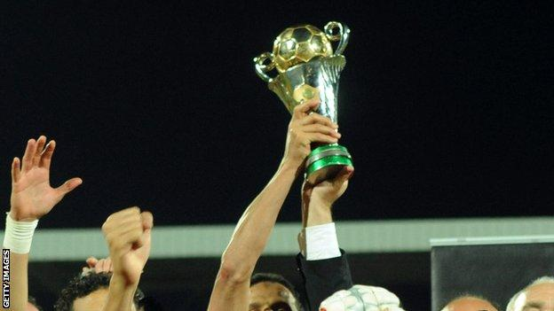African Confederation Cup Trophy