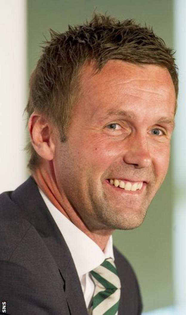 New Celtic boss Ronny Deila