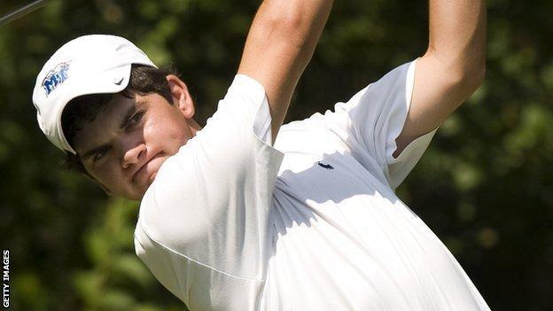Jason Millard played in the US Amateur Open at Pinehurst in 2008