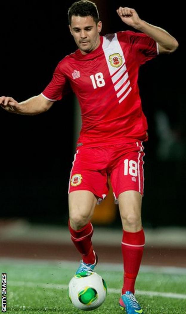 Malta winger Kyle Casciaro