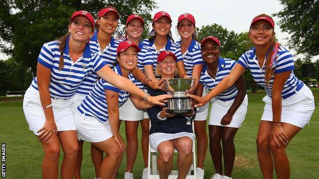 US Curtis Cup team