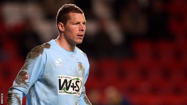 Chris Dunn in action for Yeovil