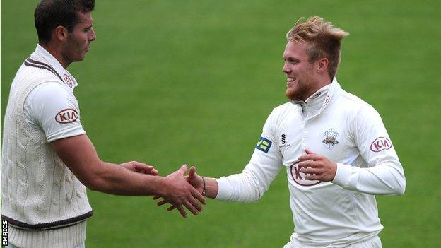Chris Tremlett and Matt Dunn were among the wickets for Surrey