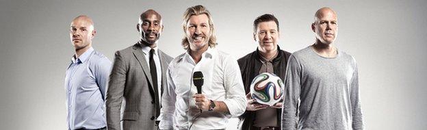BBC World Cup radio team